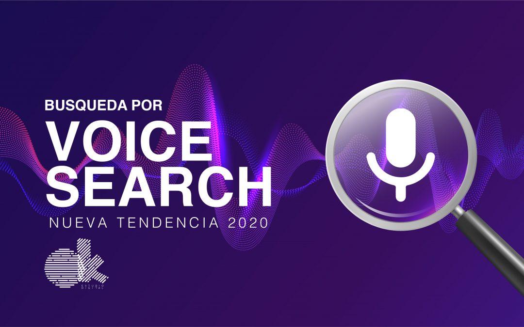 Busqueda por Voice Search, una de las nuevas tendencias para optimizar tu sitios web en este 2020